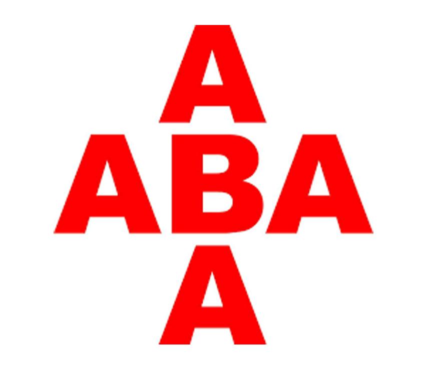 Das Logo der Firma ABA Pyrotechnik