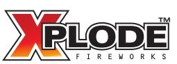 Logo Xplode Fireworks